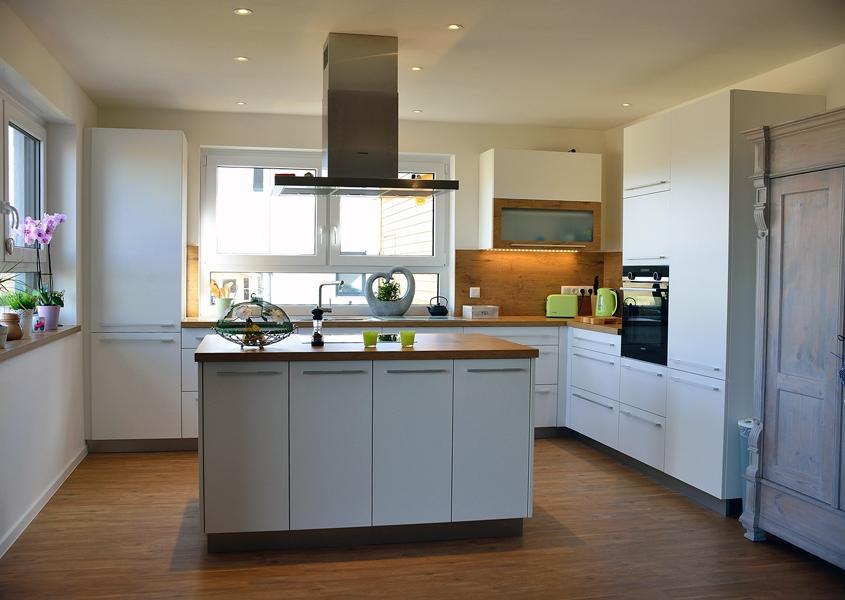 Küche moderner Landhausstil - Schreinerei Rodemer